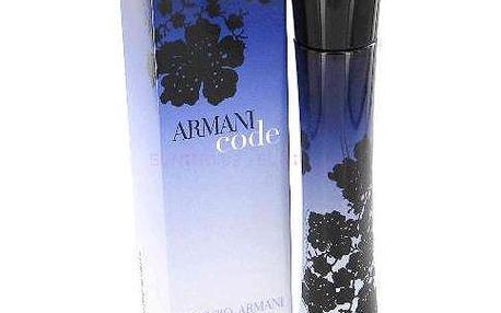 Dámská parfémovaná voda Giorgio Armani Code Women 50 ml. Jednoduchá, svůdná a okouzlující vůně.