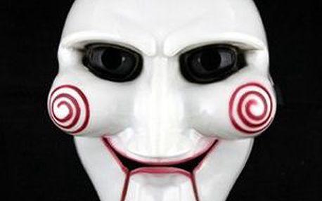 Karnevalová maska inspirovaná hororovým filmem Saw a poštovné ZDARMA! - 57