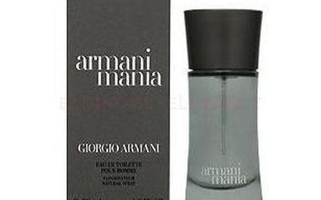 Pánská toaletní voda Giorgio Armani Mania 100 ml. Květinová vůně s kořením a orientálními dřevy.