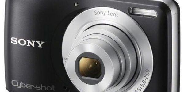 SONY DSC-S5000. Fotoaparát se snadným ovládáním a zábavnými funkcemi