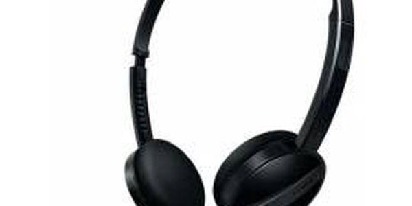 Lehká a pohodlná sluchátka Philips SHM 3560