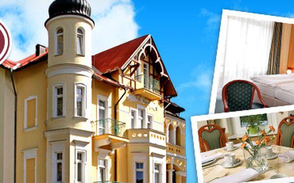 3denní pobyt pro 2 osoby v Mariánských Lázních v hotelu Villa Regent***!