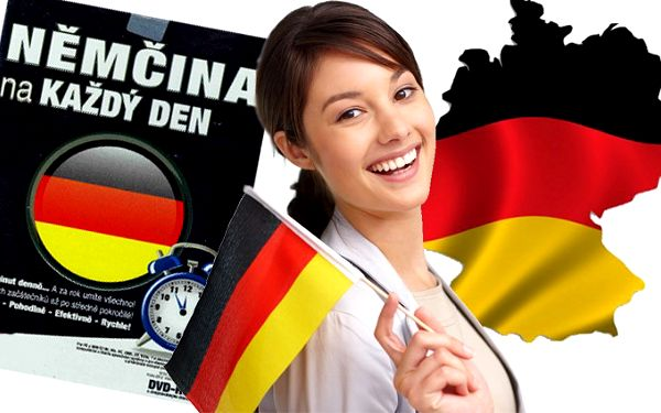 """Multimediální učebnice němčiny """"Němčina na každý den""""."""