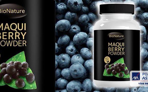 Maqui Berry tablety 60x2000mg - nejsilnější antioxidant na světě.Podporuje hubnutí a dodává lidskému tělu spoustu důležitých látek.