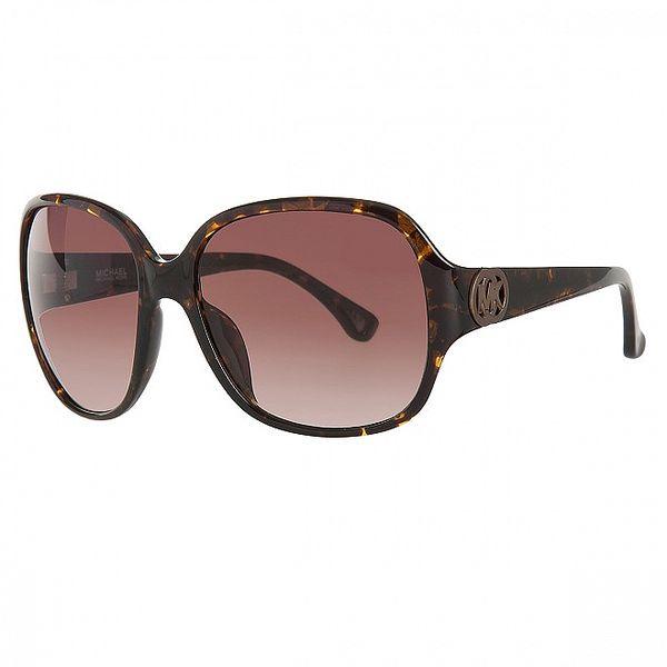 Dámske korytnačie slnečné okuliare Michael Kors