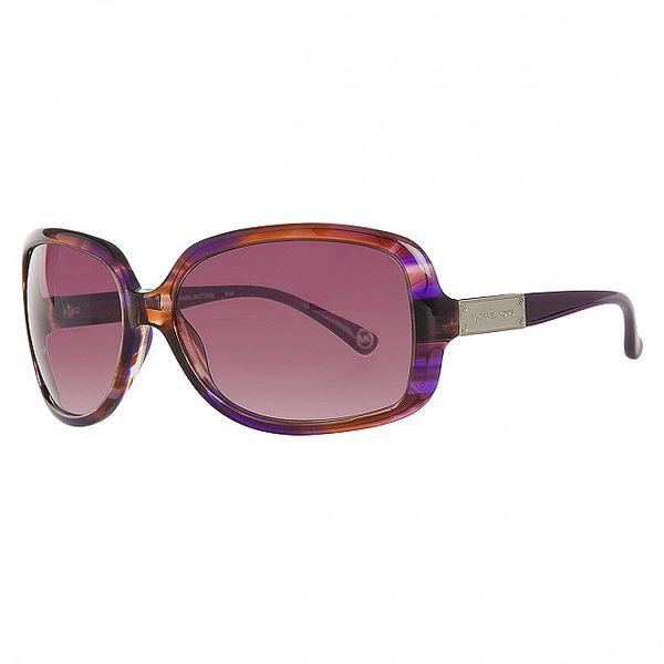 Dámské oranžovo-fialové sluneční brýle Michael Kors