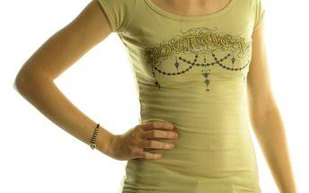 Dámské tričko Rocawear béžové