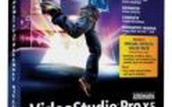 Mocný nástroj pro tvorbu těch nejkvalitnějších videí VideoStudio Pro X5 Mini-Box ENG