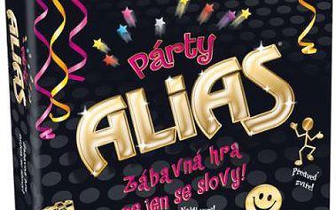 ALBI Párty Alias. V této napínavé a zábavné hře vysvětlujete ostatním spoluhráčům význam slov pomocí jiných výrazů