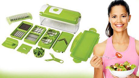 Kuchynský krájač, ktorý obsahuje všetko, čo potrebujete na prípravu akéhokoľvek jedla len za 19,99€.