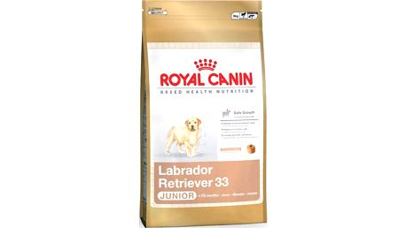 Royal Canin Labrador Retriever Junior 12 kg. Kompletní krmivo speciálně vyvinuté pro štěňata labradorského retrívra.