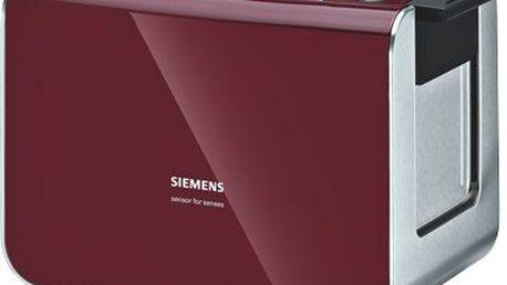 Toustovač Siemens TT86104. Digitální nastavení opékání