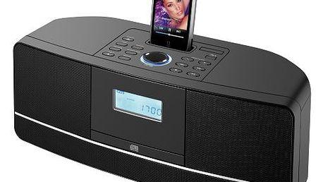 Přehrávač s CD/MP3/USB; LCD displej; podporuje CD/MP3-ID3 Sencor SPT 600