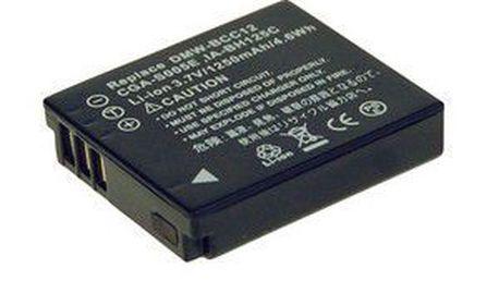 Avacom baterie pro panasonic cga-s005e, dmw-bcc12 li-ion 3.7v 1150mah 4.3wh new