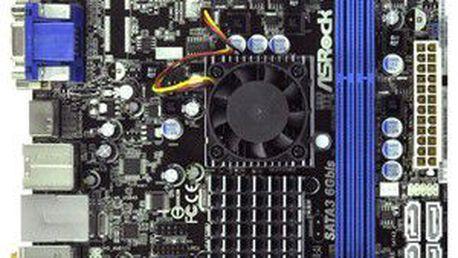 Základní deska s dvoujádrovým procesorem AMD ASROCK E350M1