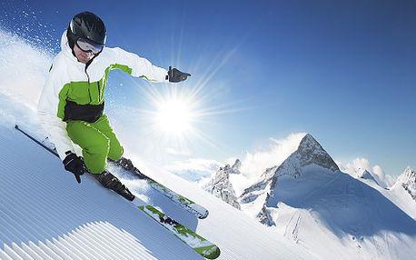 Last minute lyžování v Alpách pro DVA