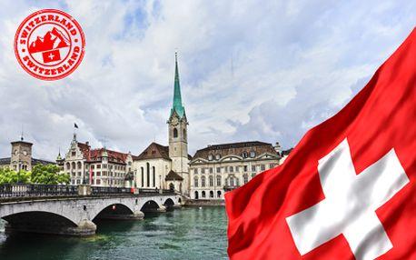 Spoznajte ZÜRICH - mesto bankovníctva, bohatstva a luxusu, nechajte sa uniesť krásou Rýnskych vodopádov - najnavštevovanejšieho miesta Švajčiarska! V cene doprava, sprievodca!