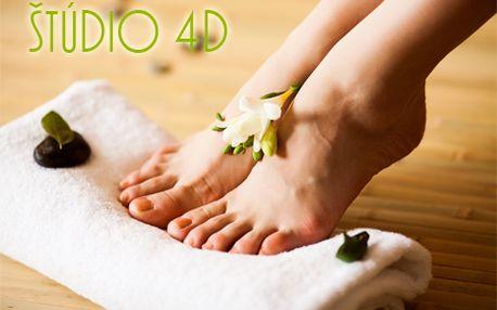Kompletná mokrá pedikúra vrátane úpravy nechtov a jemnej masáže len za 7 €! Odmenou vám bude krásny zdravý vzhľad nôh a ľahká chôdza!