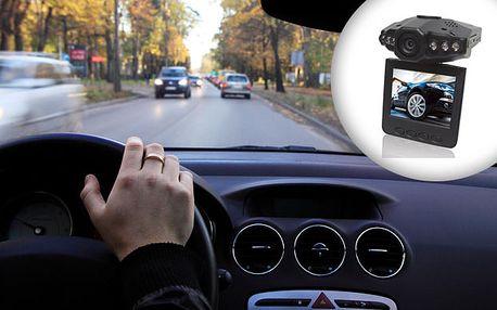 """Majte vždy po ruke dôkaz, že """"to nebola Vaša vina"""" a inštalujte si užitočnú čiernu skrinku priamo do Vášho vozidla len za 38€. HD Kamera do auta so zľavou až 55%."""