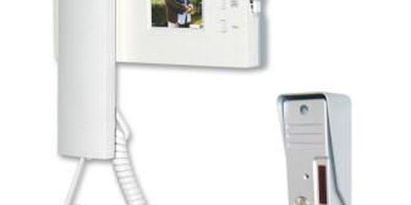 Moveto V-026. Videotelefon V-026 je snadno instalovatelný systém s barevným displejem velikosti 2,4''