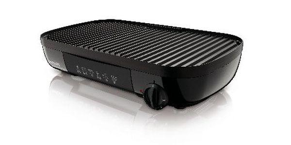 PHILIPS stolní gril HD6320/20 černý 1500W