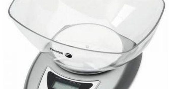 Kuchyňská váha v nerezovém designu do 5 kg Fagor BC-200