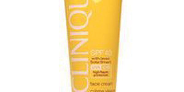 Opalovací krém na obličej s ochranným faktorem SPF 40 Clinique SPF40 Face Cream 50ml