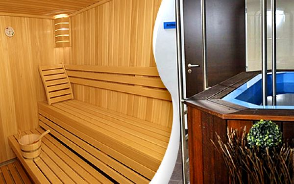 Dvě hodiny v sauně a vířivce pro dva