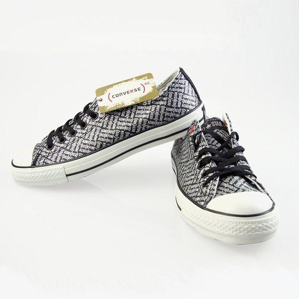 Boty Converse All Star černo-stříbrné