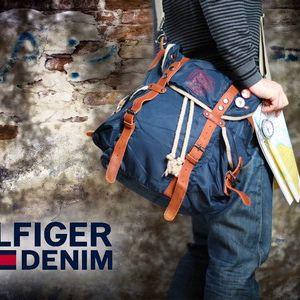 Praktické kabelky a ruksaky od jednej z celosvetovo najúspešnejších značiek Hilfiger Denim v modrej, zelenej alebo army farbe a rôznych veľkostiach so zľavou do 69%!