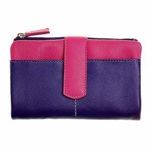 Dámska fialovo-ružová peňaženka Puntotres