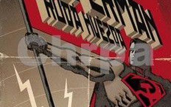 BB ART Superman Rudá hvězda. Slavný komiks z USA.