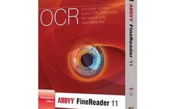 ABBYY FineReader 11 Professional Edition. Snadný a rychlý převod dokumentů