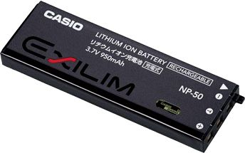 Akumulátor NP-50 pro fotoaparáty Casio CASIO NP-50