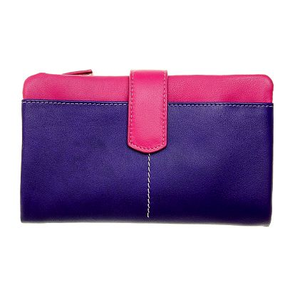 Dámska velká fialovo-ružová peňaženka Puntotres