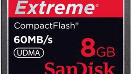 Paměťová karta SANDISK CompactFlash Extreme 8 GB
