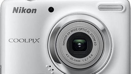 Atraktivní, odolný a snadno použitelný fotoaparát Nikon Coolpix L25