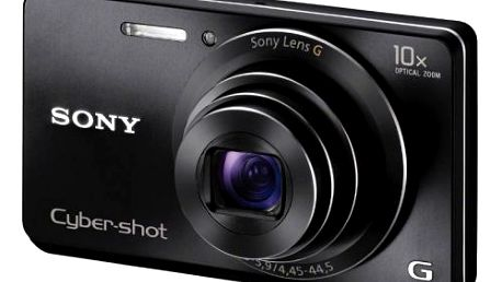 """Kompaktní digitální fotoaparát Sony DSC-W690 nabízí 16,1 megapixelů, 10x optický zoom a 3"""" LCD displej."""