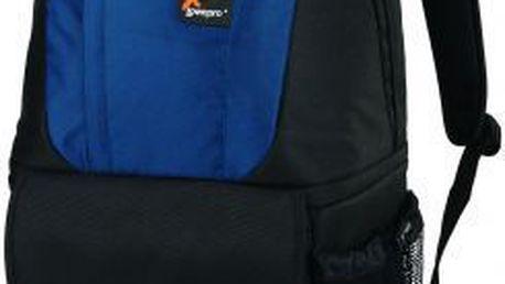 Mimořádně praktický a univerzální fotobatoh LowePro Fastpack 200 modrá