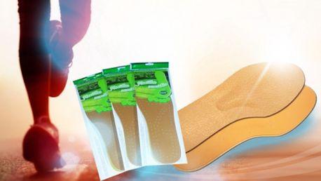 3 ks kožených VLOŽIEK DO TOPÁNOK s protibakteriálnym prípravkom za skvelých 5,70 Eur vrátane poštovného! Doprajte Vašim nohám pohodlie v každej obuvi! Jedinečná zľava 42%!