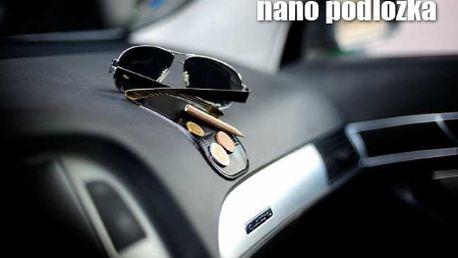 Len 5,99 € za 5ks nanopodložiek! Praktická nanopodložka do auta, kancelárie či domácnosti. Nezanecháva žiadne stopy, priľne takmer ku každému povrchu, aby udržala vaše veci!