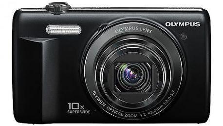 Digitální fotoaparát Olympus VR-340. 10x super širokoúhlý optický zoom. HD video.