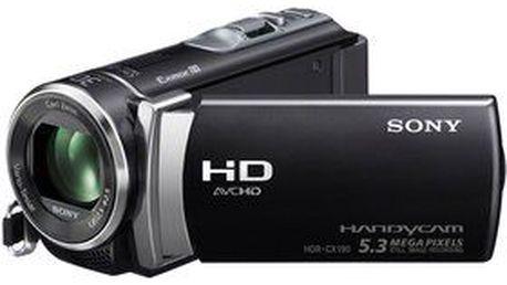 Digitální full HD videokamera Sony HDR-CX190