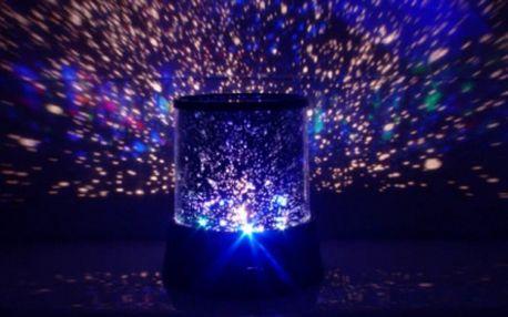 Projektor noční oblohy - lampa Star Master! Skvělá barevná show a strhující podívaná přímo ve Vašem pokoji za pouhých 149 Kč! Užívejte si každý večer uklidňující noční oblohu, která mění barvy se super slevou 50%!