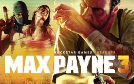 Hra cenega max payne 3 pro xbox 360