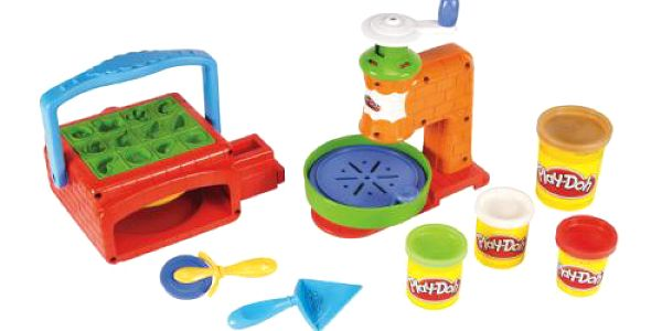 HASBRO Play - doh - Pizza hrací set. Děti si z této sady mohou připravit výbornou snídani s pizzou