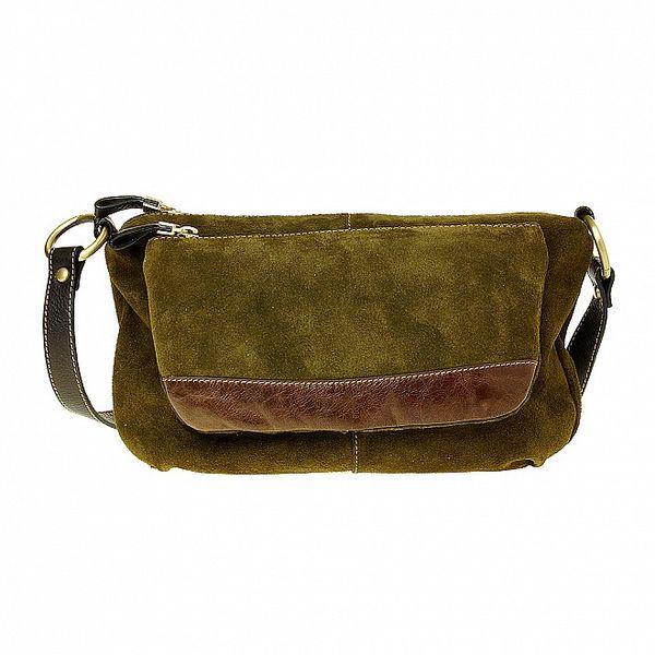 Dámská malá khaki kabelka Puntotres