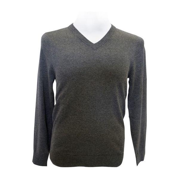 Pánský svetr Louis Estére tmavě šedý