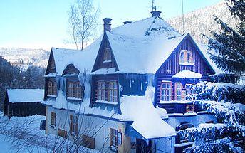 Jen 1066 Kč za pobyt pro jednu osobu na 4 dny (3 noci) s polopenzí v nejznámější části Krkonoš - Peci pod Sněžkou!