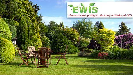 Zľava na jedinečné návrhy záhrad, v ktorých sú použité kvalitné materiály a pestrá paleta rastlín už od 50€ + zdarma kosačka AL-KO Classic.